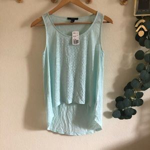 NWT F21 High Low Top